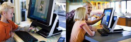 HP cree en los ordenadores con pantalla táctil
