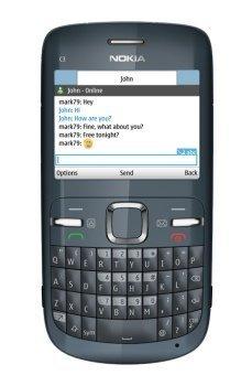 Nokia C3 con correo electrónico gratis siempre