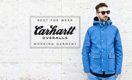 Carhartt Wip impermeable azul