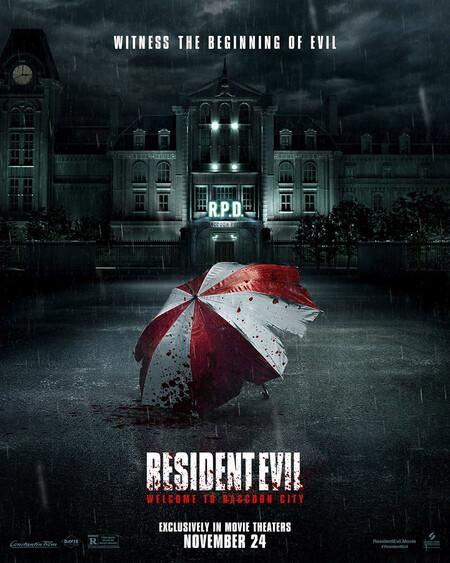 Resident Evil Bienvenidos A Raccoon City Poster