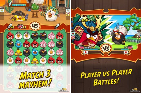 Angry Birds Angry Birds Fight