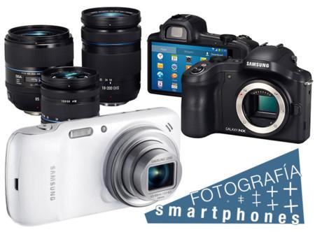 Galaxy S4 Zoom y Galaxy NX, la convergencia fotografía-smartphones