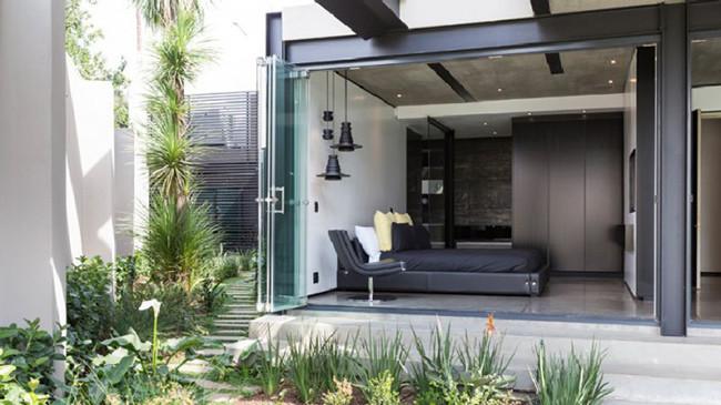 Magazine casas - Paredes de vidrio exterior ...
