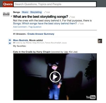 Quora añade una importante mejora: ahora permite incrustar vídeo