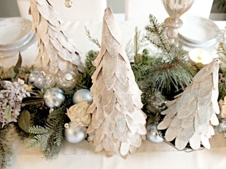 Árboles de Navidad de cartón
