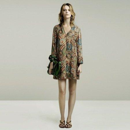 Paisley lookbook mayo de Zara