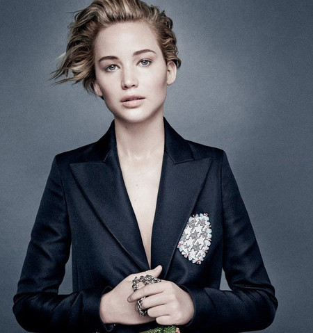 Jennifer Lawrence, fresca y natural, fotografiada por Patrick Demarchelier para Dior