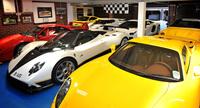 La impresionante colección de coches de Peter Saywell
