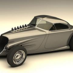 Foto 2 de 7 de la galería vizualtech-33-bomber-style-rod-design en Motorpasión