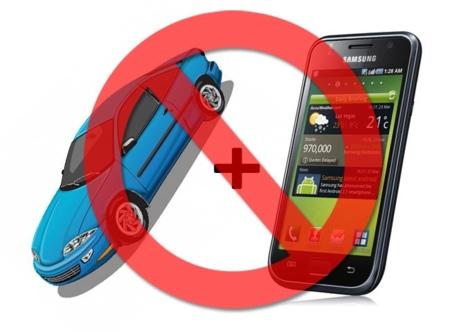 Perder una vida al volante: móviles y coches mejor por separado