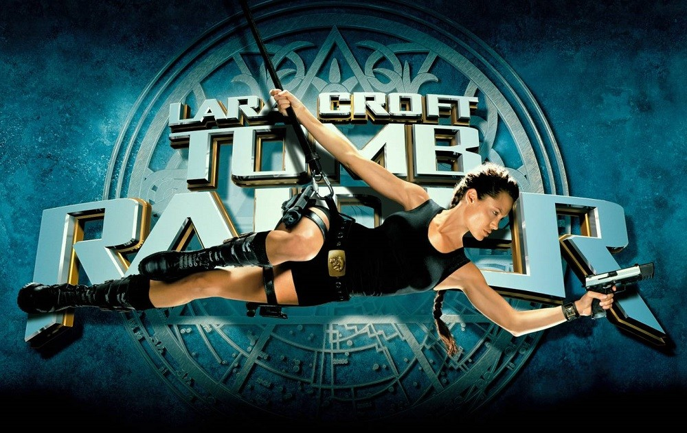 Cartel Lara Croft Tomb Raider Angelina Jolie
