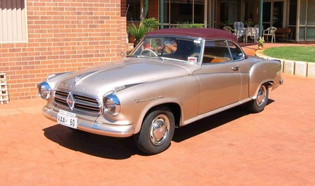 Borgward Isabella Cabriolet 1958 1961
