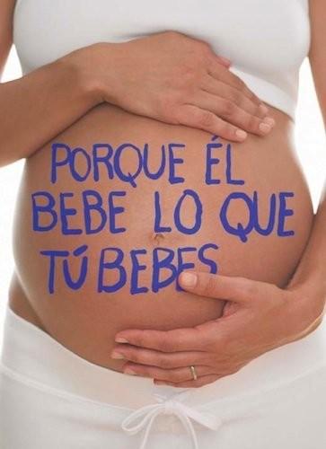 Cerca de la mitad de embarazadas consume alcohol