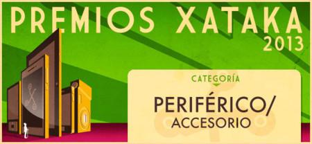 Mejor periférico/accesorio (actualizado), vota por tu favorito para los Premios Xataka 2013