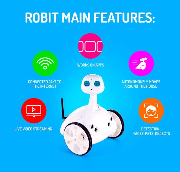 Robot Robit, un gran asistente para toda la familia