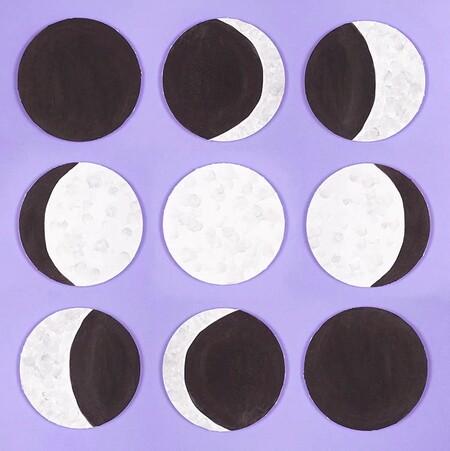 Manualidades Universo Espacio Exterior Luna Estrellas 6