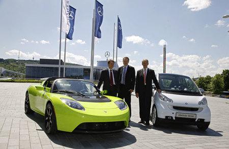 Daimler compra un 10% de Tesla
