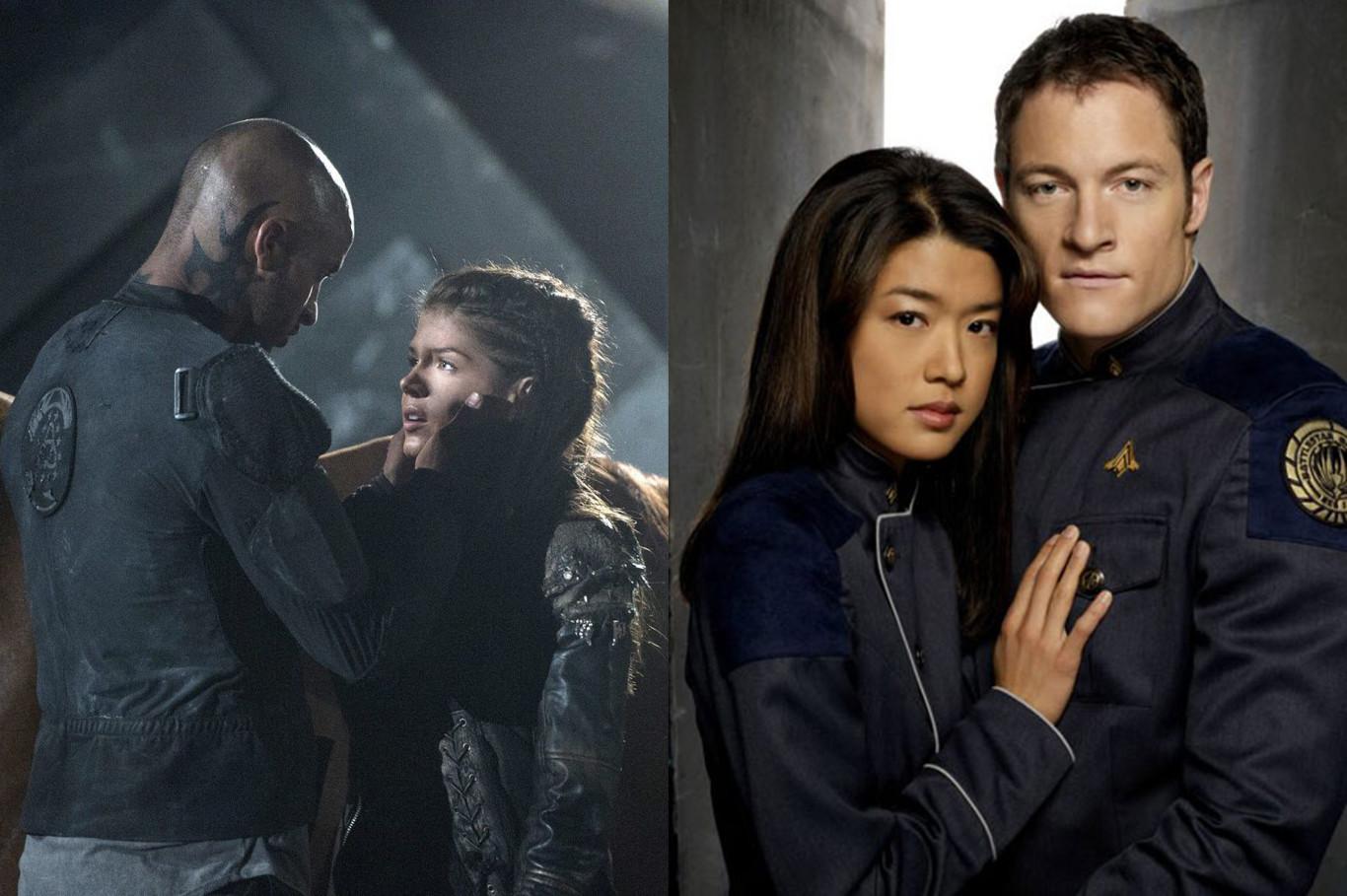 8 parecidos entre 'Los 100' y 'Battlestar Galactica'...
