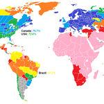"""Tenemos que repensar nuestra idea de """"blancos"""", y este mapa es la mejor prueba de ello"""