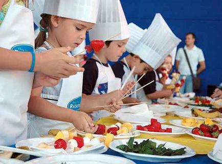 Clases de cocina para los ni os de la mano de la fundaci n - Cocina con clase ...