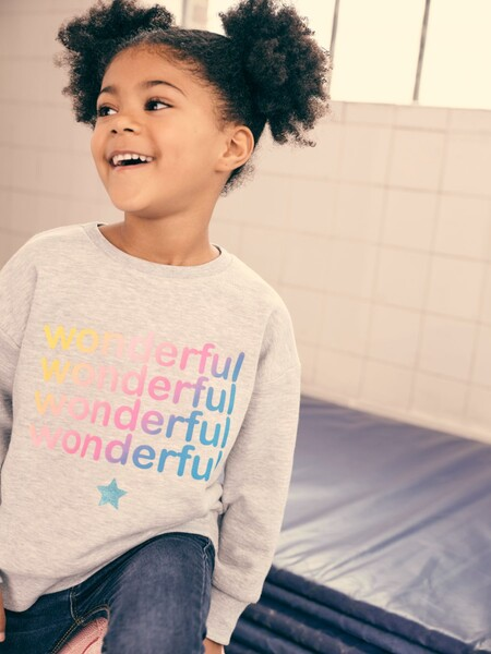 Grey Wonderful Sweatshirt Gbp4 Eur5 6