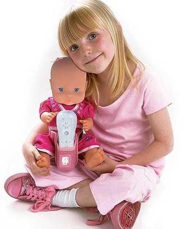 """""""Mi bebé juega"""": nuevo juego de la Wii para cuidar a un bebé"""