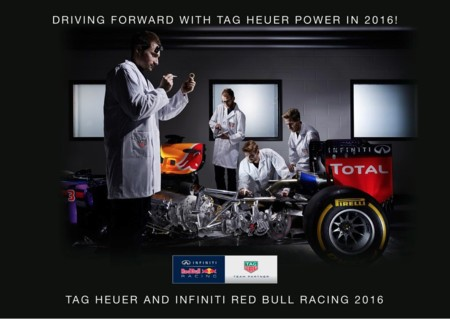 Motores TAG Heuer para Red Bull y motores Ferrari para Toro Rosso