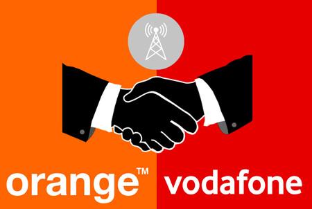 Orange y Vodafone planean fusionar su red móvil en España, según Expansión