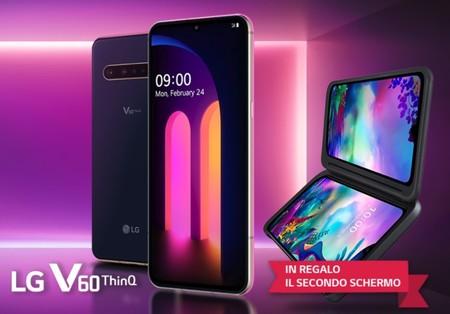 El precio oficial del LG V60 aparece primero en Italia: 899 euros con el Dual Screen incluido a modo promocional