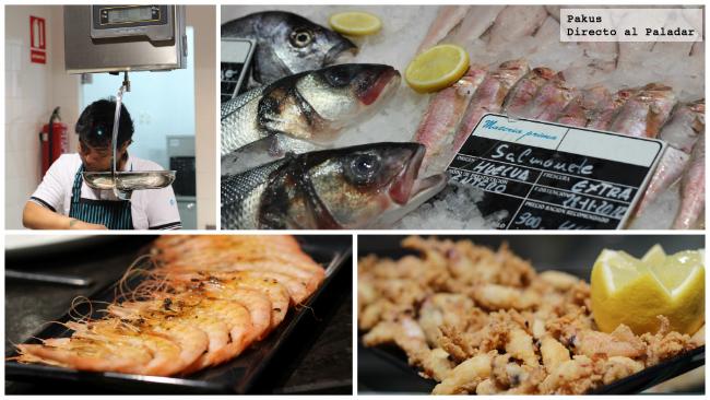 pescados materia prima