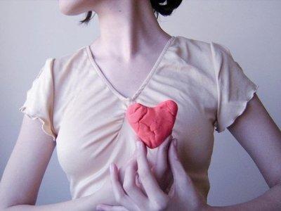 Las mujeres tienen menos corazón