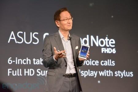 Asus lanza un FonePad Note de 6 pulgadas