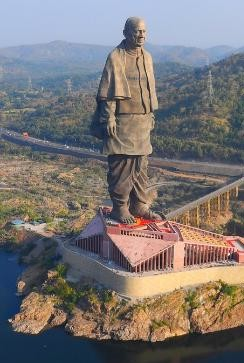 Statue Of Unity In 2018 Cropped