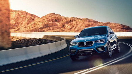 BMW X4 Concept ya ha sido presentado en Shangai