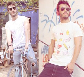 El 'Proyecto T blogger' y sus divertidas camisetas