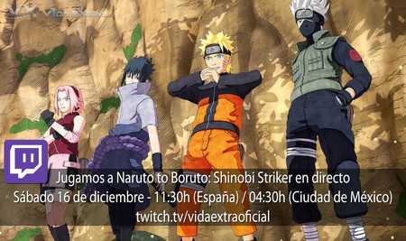 Streaming de la beta de Naruto to Boruto: Shinobi Striker a las 11:30h (las 04:30 en CDMX) [finalizado]