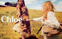 Los campos bucólicos y Sasha Pivovarova se apoderan de la campaña de Chloé otoño-invierno 2014