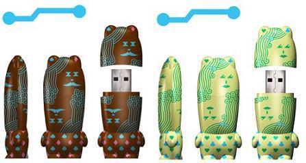 Personalidad con tu memoria USB