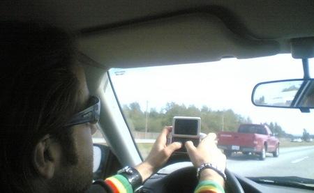 ¿Conduces usando el móvil? Pues ahora te lo quito