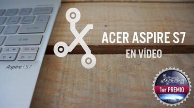 Acer Aspire S7, el ultrabook táctil de Acer en vídeo