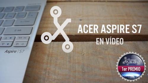 AcerAspireS7,elultrabooktáctildeAcerenvídeo