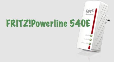 FRITZ!Powerline 540E: WiFi y PLC en un mismo dispositivo