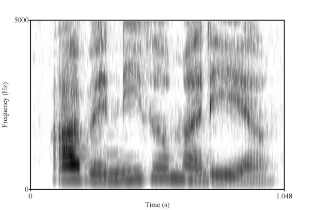 Espectrograma De Una Frase Csic