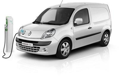 Renault Kangoo Z.E., desde 20.000 euros sin IVA