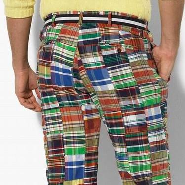 Ralph Lauren y sus pantalones patchwork