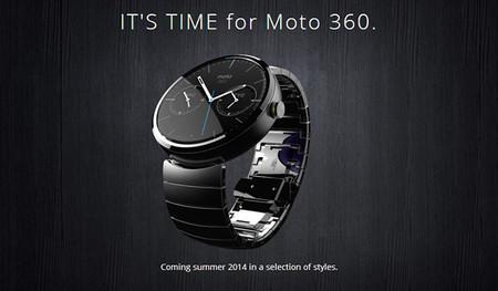 Moto 360 con correa de metal
