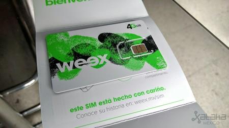Weex Sim 4g Mexico