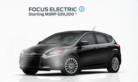 Ford Focus eléctrico precio