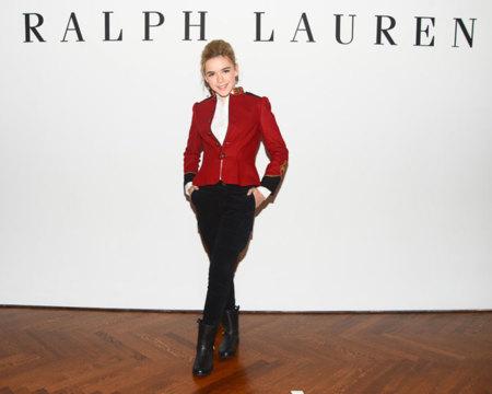Ralph Lauren niñas otoño 2012: las its girl del futuro toman nota