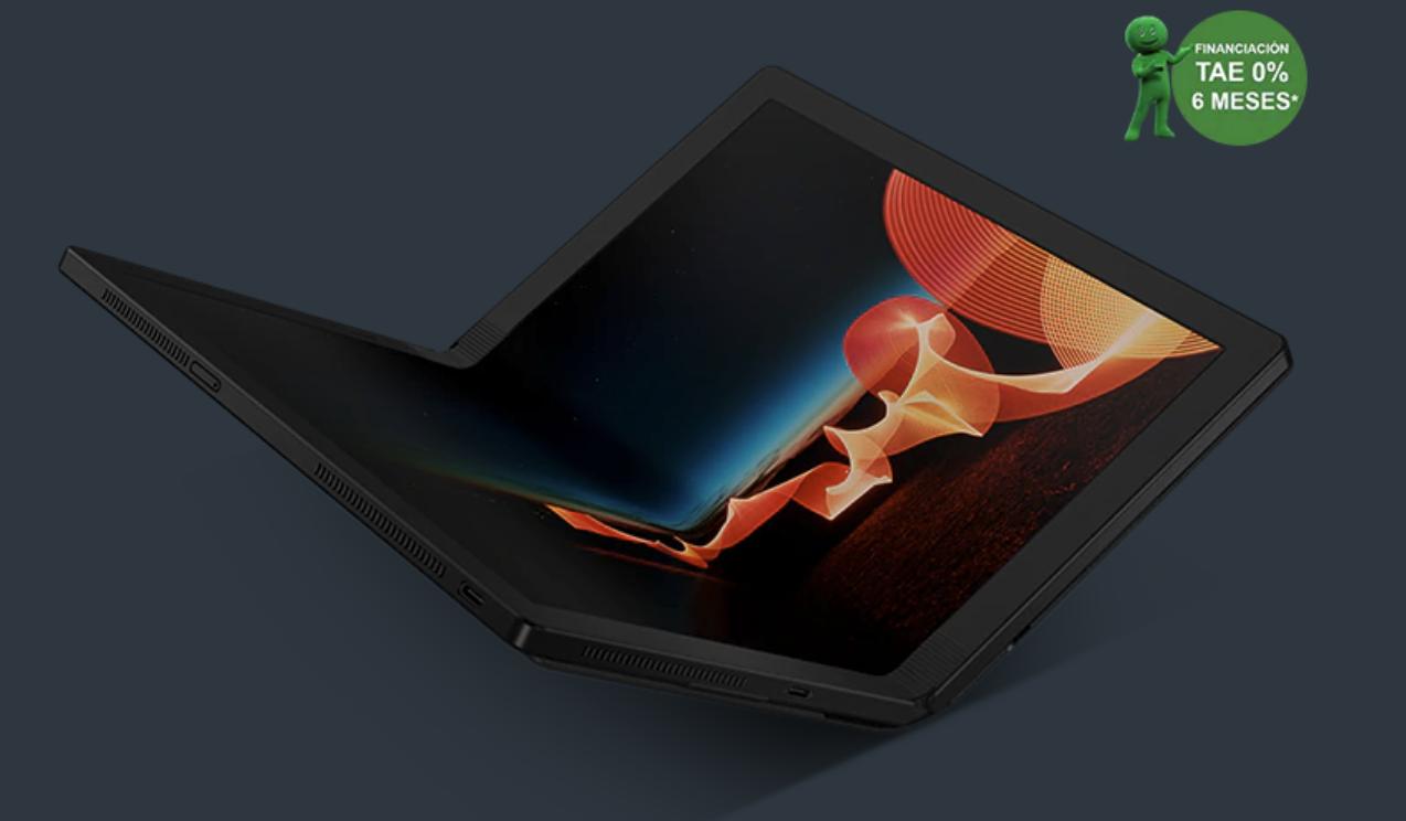 Lenovo ThinkPad X1 Fold con pantalla OLED plegable de 13,3 pulgadas